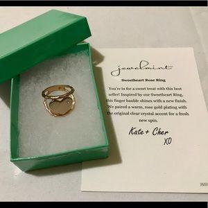 Jewelmint Fashion Jewelry - Sweetheart Rose Ring